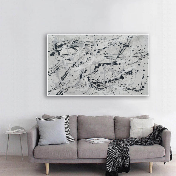Original splatter painting | splatter painting original paintings L767-1