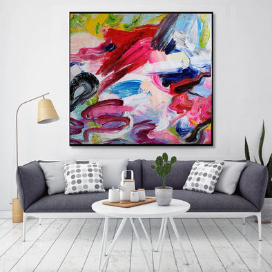 Abstract paintings with acrylic | Abstract picture art-1