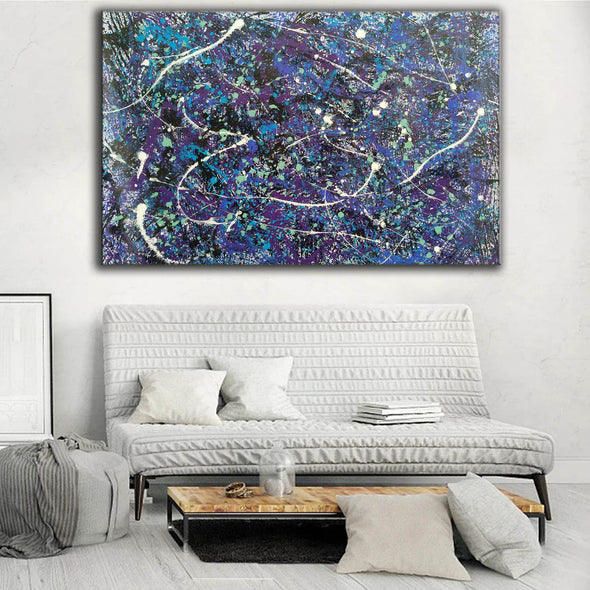 splatter painting style | Dripping paint art L876-4