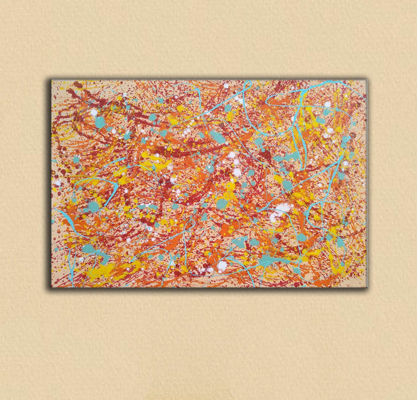 Original drip painting | splatter painting painting style L874-4
