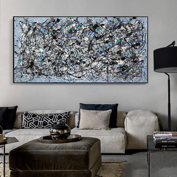 splatter painting artwork | splatter painting art L693-2
