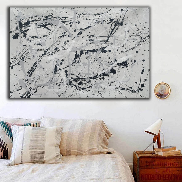 Original splatter painting | splatter painting original paintings L767-2