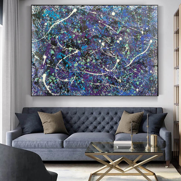 splatter painting style | Dripping paint art L876-5