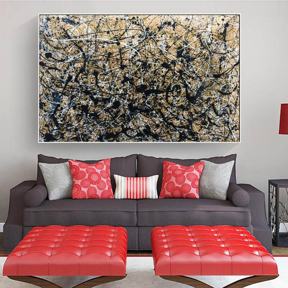 Paint like drip | drip large paintings L898-2