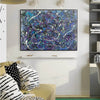 splatter painting style | Dripping paint art L876-6