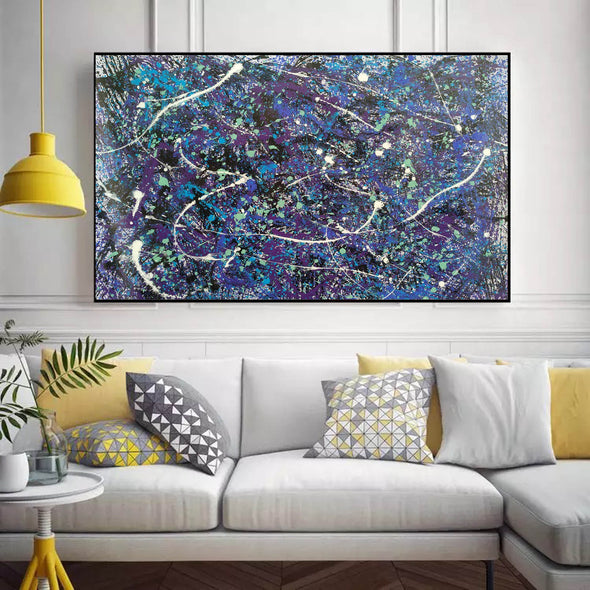 splatter painting style | Dripping paint art L876-7