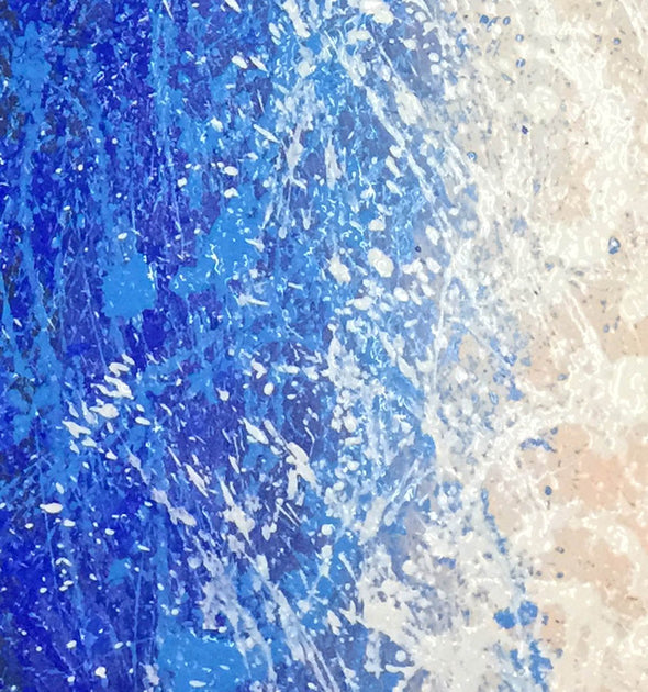 splatter painting inspired paintings | splatter painting drip painting technique L919-5