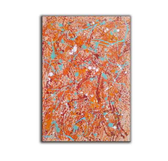 splatter painting abstract | splatter painting dripping L882-6