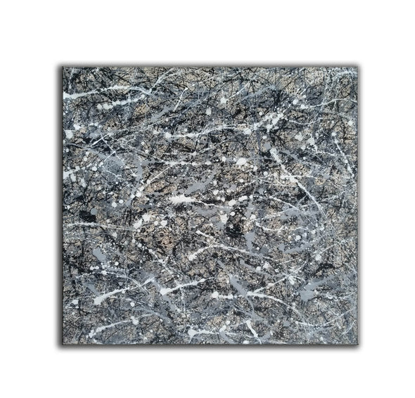 Jackson pollock collection | Jackson pollock drip style painting L929-4