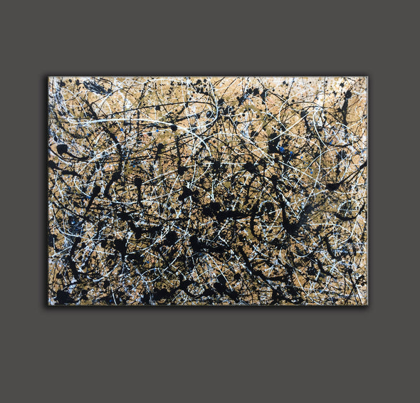 Paint like pollock | Pollock jackson paintings L898-7
