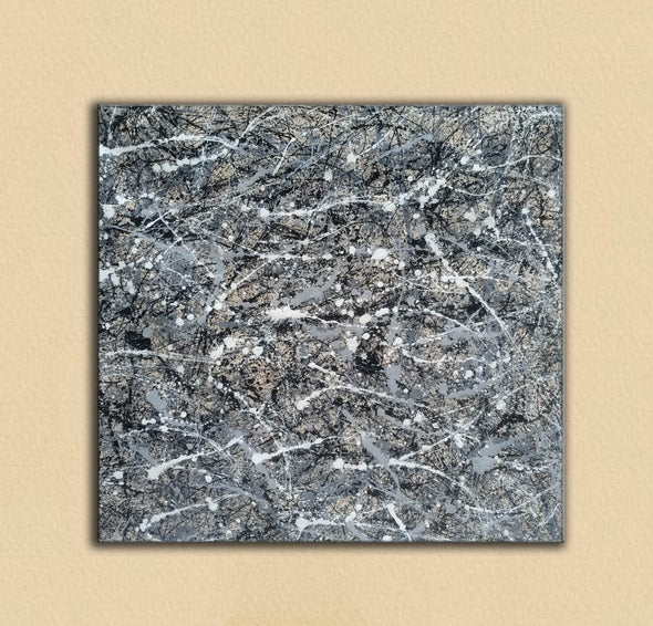 Jackson pollock collection | Jackson pollock drip style painting L929-6