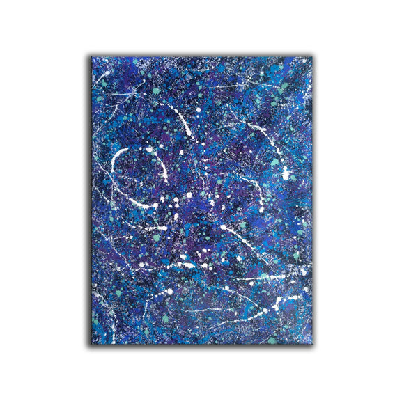 Early splatter painting | Dripping artwork L926-6