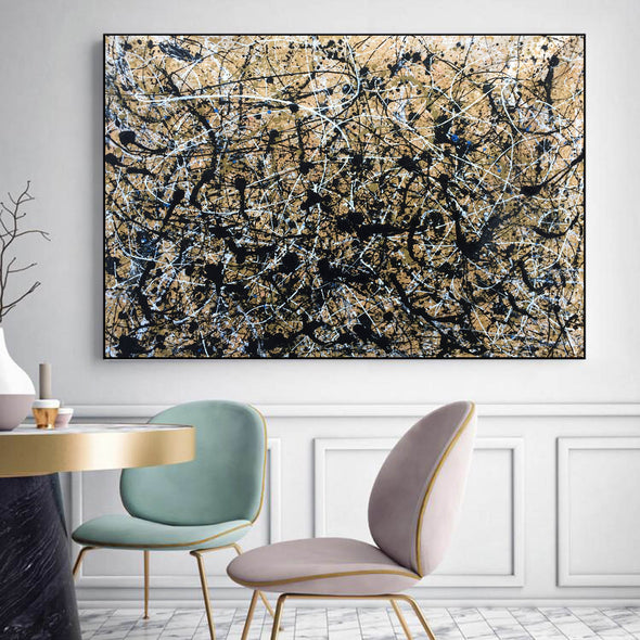 Paint like pollock | Pollock jackson paintings L898-8