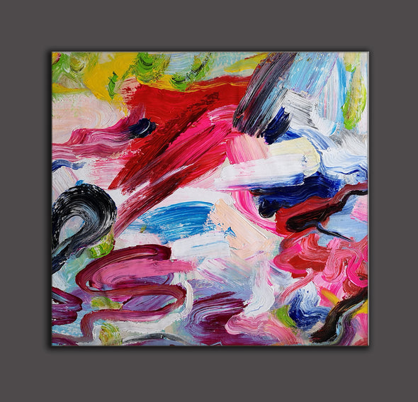 Abstract paintings with acrylic | Abstract picture art-9