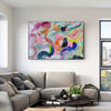 Large abstract canvas wall art | Contemporary abstract paintings LA71_1