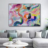 Large abstract canvas wall art | Contemporary abstract paintings LA71_3