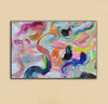 Large abstract canvas wall art | Contemporary abstract paintings LA71_9