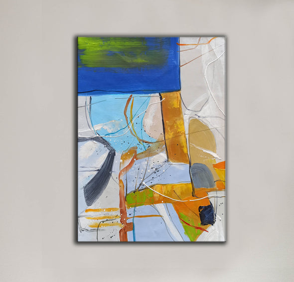 Large abstract painting | Modern contemporary art LA154_5