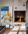 Large abstract painting | Modern contemporary art LA154_6