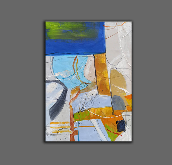 Large abstract painting | Modern contemporary art LA154_7