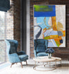 Large abstract painting | Modern contemporary art LA154_8