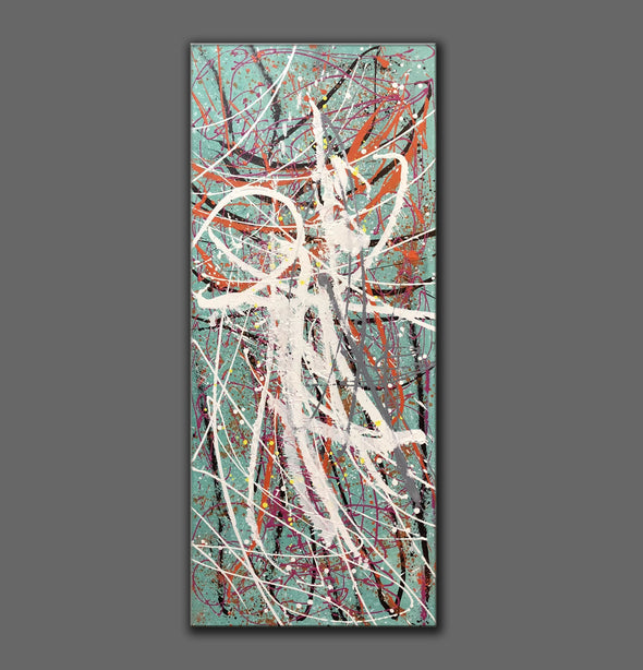 Large oil painting | Large abstract art LA297_4