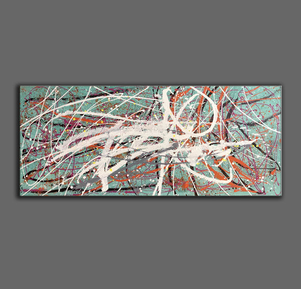 Large oil painting | Large abstract art LA297_7