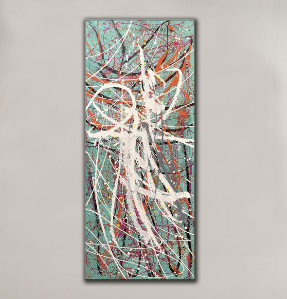 Large oil painting | Large abstract art LA297_8