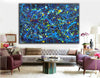 Modern abstract art | Abstract canvas art LA63_6