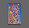 Abstract acrylic painting on canvas | Modern and contemporary art LA129_4