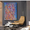 Abstract acrylic painting on canvas | Modern and contemporary art LA129_3