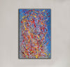 Abstract acrylic painting on canvas | Modern and contemporary art LA129_10