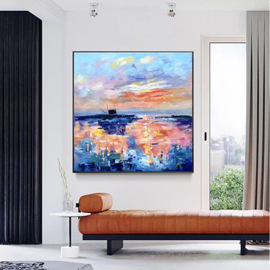 Modern art paintings | Wall art painting LA187_1