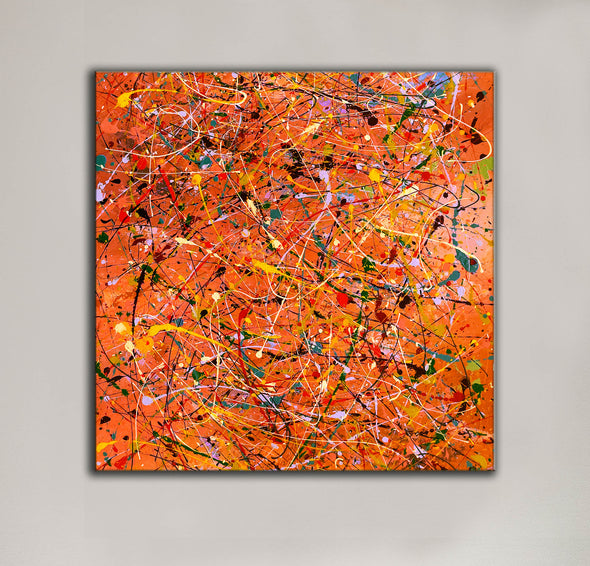 Modern contemporary art | Canvas art painting LA198_5