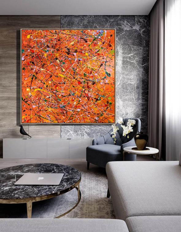 Modern contemporary art | Canvas art painting LA198_3