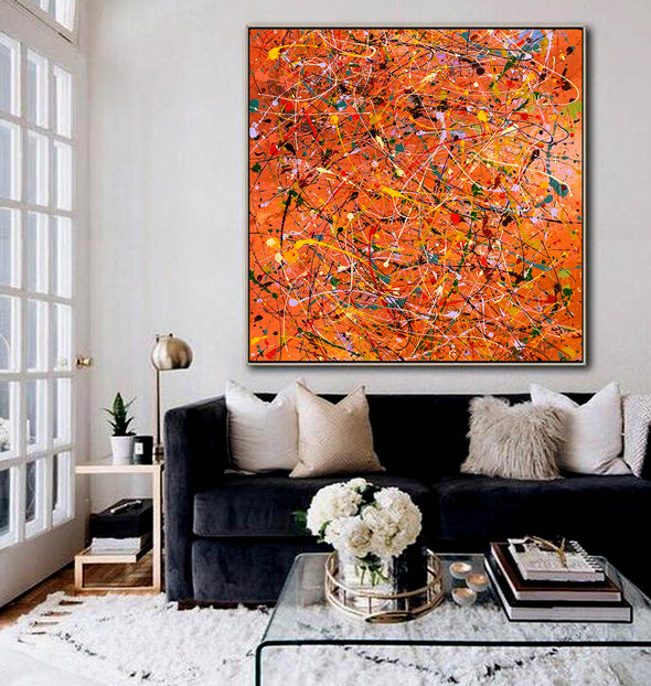 Modern contemporary art | Canvas art painting LA198_2