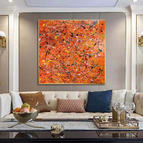 Modern contemporary art | Canvas art painting LA198_4
