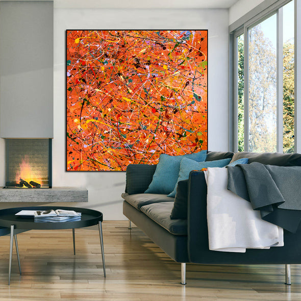 Modern contemporary art | Canvas art painting LA198_7