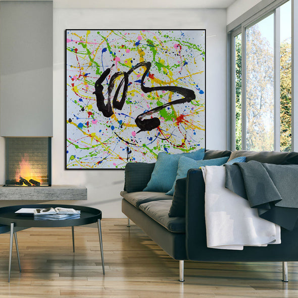 Original abstract oil paintings | Original abstract oil paintings LA61_2
