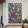 Original abstract art | Oil on canvas art LA59_4