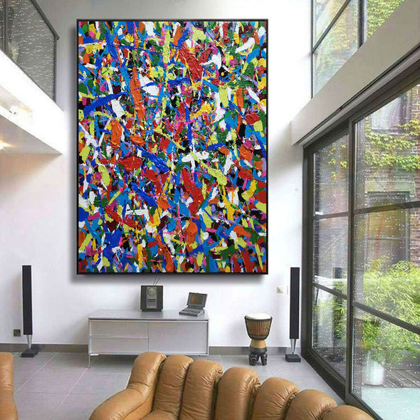Original abstract art | Oil on canvas art LA59_7