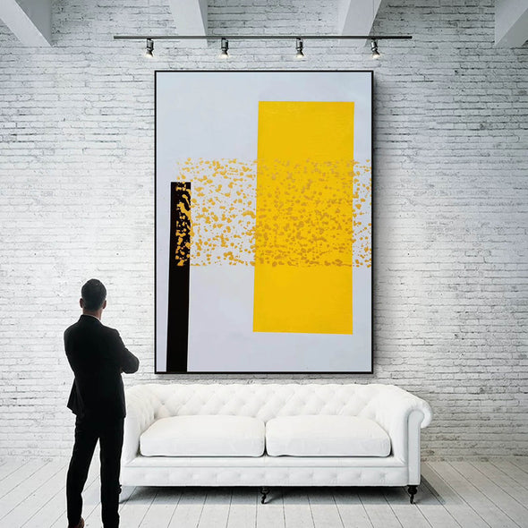 Oil painting abstract art | Large abstract paintings LA138_3