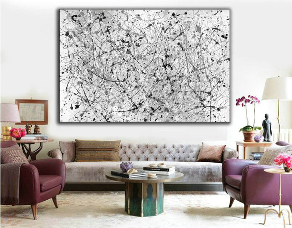 Oil painting abstract canvas | Modern abstract artists paintings LA262_1