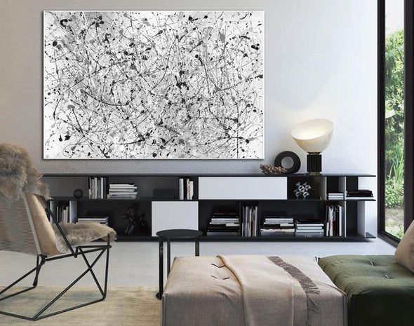 Oil painting abstract canvas | Modern abstract artists paintings LA262_5