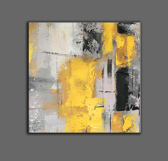 Original abstract paintings | Abstract oil painting on canvas LA16_10
