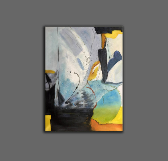 Original abstract paintings | Abstract oil painting on canvas LA166_3