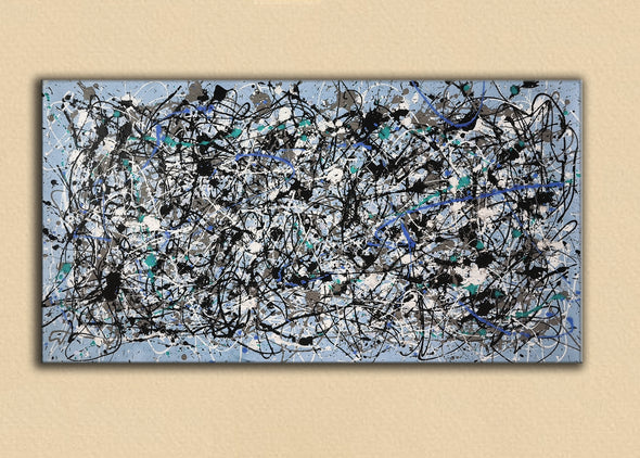 splatter painting artwork | splatter painting art L693-8