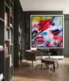 Abstract paintings with acrylic | Abstract picture art-10