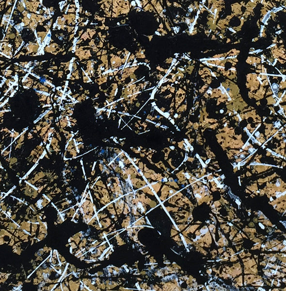 Paint like pollock | Pollock jackson paintings L898-9