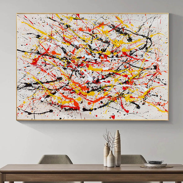 Paint modern abstract art | Abstrak painting LA278_1